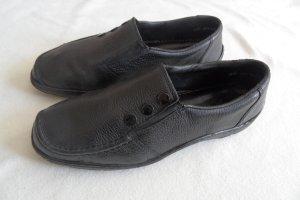 Rieker Schuhe gr.40  Schwarz Leder  Top.