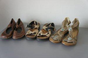 RIEKER Schuhe Größe 38 3 Paare Ballerinas Halbschuhe Sandalen
