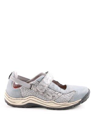 Rieker Sneaker con strappi blu-grigio chiaro stile casual