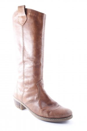 Rieker Stiefel braun Street-Fashion-Look