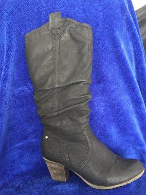 Rieker Stiefel im Cowboy Stil mit gestauchtem Schaft