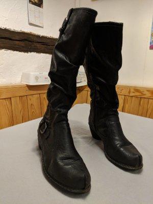 Rieker Stiefel mit Fell Dr. Jürgens Größe 40
