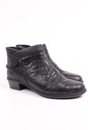 Rieker Stiefel schwarz Größe 37