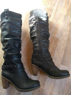Rieker Stiefel Schwarz Größe 38