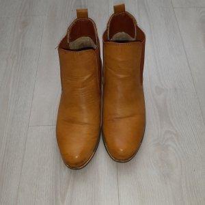 Rieker Botas deslizantes color oro-marrón arena
