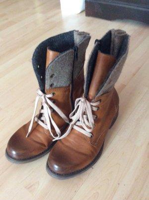 Rieker Winter Boots Gr 38 braun mit Lodenschaft