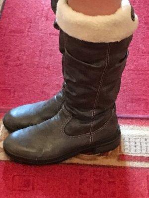 Rieker Hoge laarzen donkergrijs-taupe