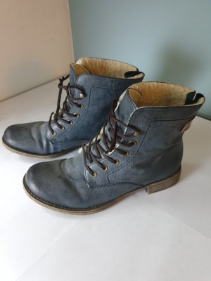 Rieker Winter Booties dark blue