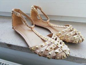 Zara Ballerina's met bandjes veelkleurig