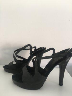 Esprit Pumps met bandjes zwart