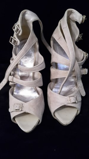 High Heel Sandal natural white-cream