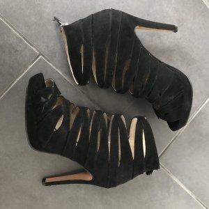 Riemchen Highheels schwarz H&M Sandaletten