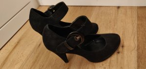 Young Spirit Escarpins Mary Jane noir faux cuir