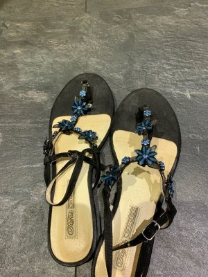 Buffalo London Sandalo con cinturino blu scuro-blu