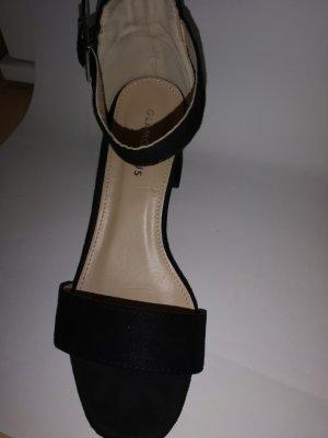 Glamorous Sandales à talon haut noir
