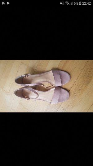 Graceland Strapped High-Heeled Sandals rose-gold-coloured