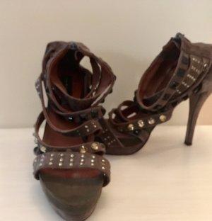 Riemchen Sandalen / High heels / Sandaletten von Friis & Company / Größe 40