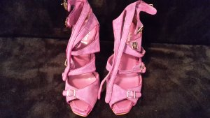Riemchen Sandalen High Heels violette