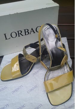 -8- Venice Strapped Sandals yellow leather