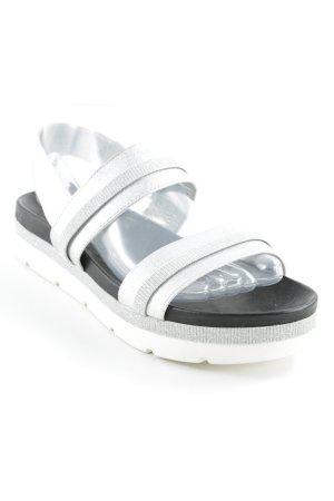 Riemchen-Sandalen mehrfarbig Casual-Look