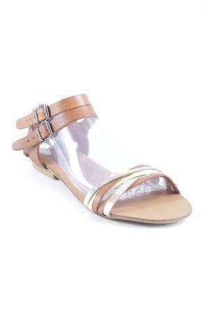 Sandalen met bandjes veelkleurig casual uitstraling