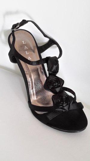 Riemchen-Sandalen mit Absatz edel und festlich
