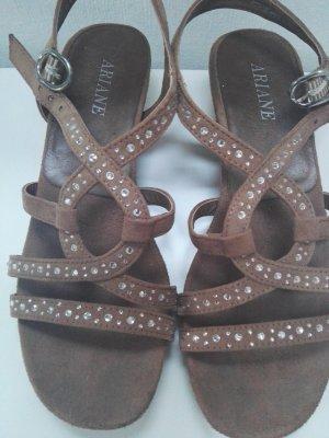 Ariane High-Heeled Sandals light brown