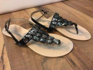 Riemchen-Sandalen/Zehentrenner