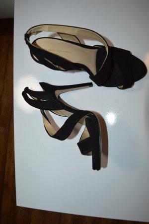 Riemchen Sandalette Gr. 39 zara basic gerne getragen