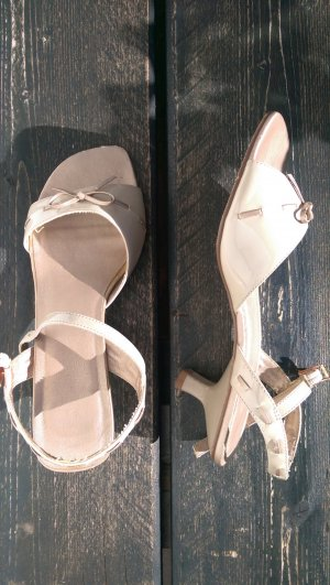 Esprit Strapped High-Heeled Sandals bronze-colored-cream
