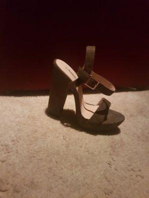 riemchen sandaletten khaki