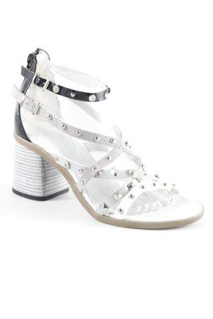 Riemchen-Sandaletten mehrfarbig Casual-Look