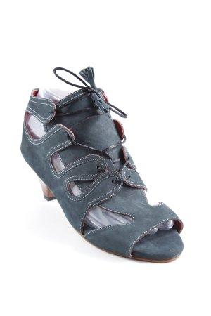 Riemchen-Sandaletten mehrfarbig Elegant