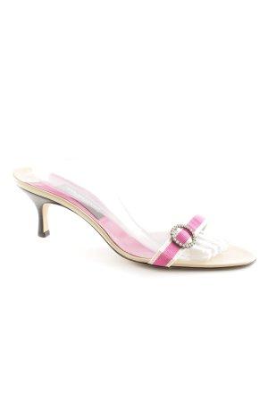 Riemchen-Sandaletten pink-beige Elegant