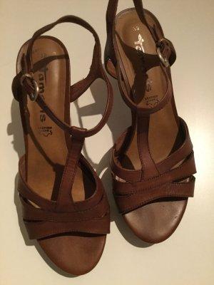 Riemchen-Sandaletten von Tamaris