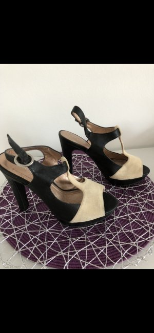 BCBGeneration Strapped pumps black-oatmeal
