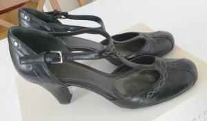 Esprit Pumps met bandjes zwart Leer
