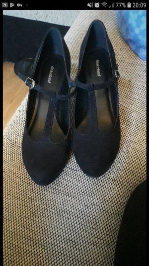 Graceland Mary Jane pumps donkerblauw