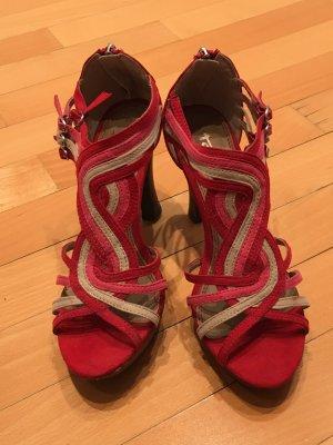 Tamaris High Heel Sandal multicolored leather