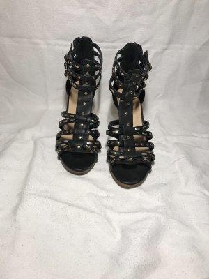 Graceland Sandalo con cinturino e tacco alto nero