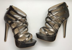 Riemen High Heels Metallic