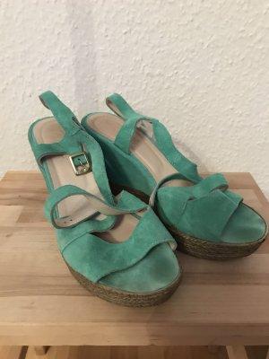 Taupage Sandalo con cinturino e tacco alto multicolore