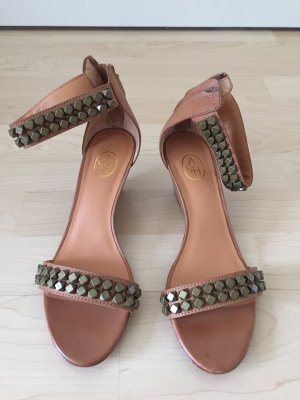 ASH Strapped pumps brown-nude