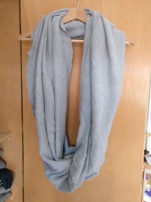 American Apparel Écharpe tube gris clair-gris coton