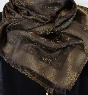 ⭕️riginal Louis Vuitton shine Schal braun