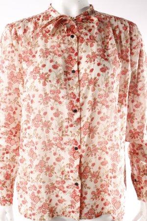 Rika Schluppenbluse Rosenmuster