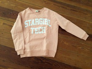 Rika Sweatshirt Stargirl Tech in Rosa Pullover Statement Sweater