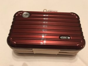 Rimowa Cosmeticabox donkerrood