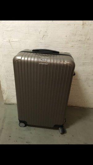 Rimowa Koffer grijs-bruin-zilver Acryl
