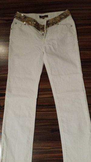 Rinaschimento Jeans weiss,XS